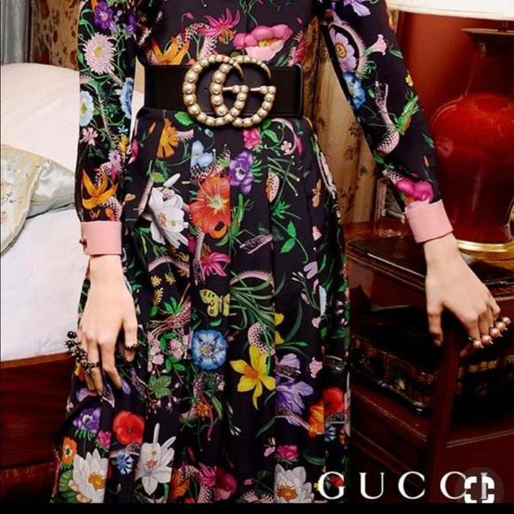 4acef4632c5 Beautiful Big GG authentic Gucci Belt